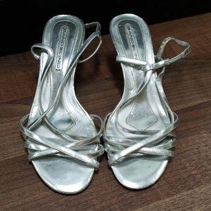 Kitten heels strappy sandal